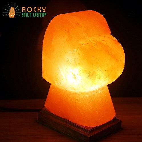 Heart-shaped Himalaya Natural Salt Lamp