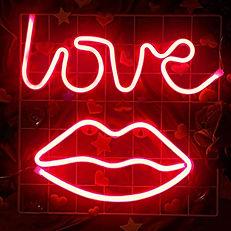 Love With Lips Neon Sign.jpg