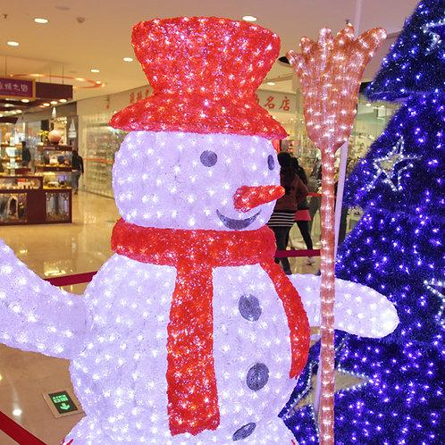 2m snowman Sculpt Landscape Light