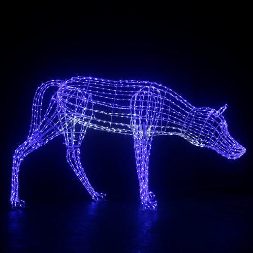 Wolf Sculpt Landscape Light