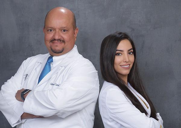 Dr. Camacho and Dr. Aslami