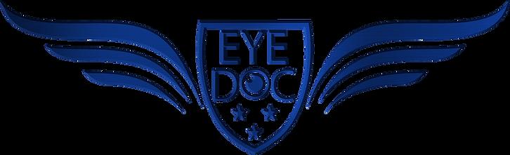 Secondary EYE DOC Logo Chrome Blue copy.