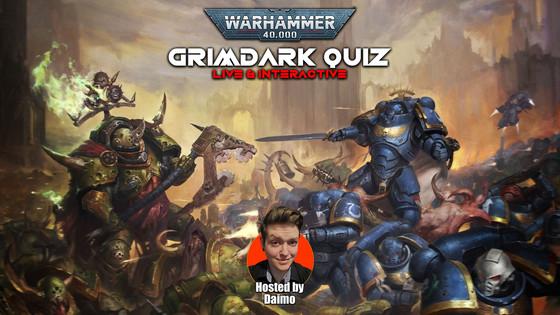 Warhammer 40K Grimdark Interactive Quiz
