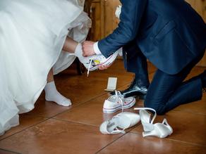 WEDDING SHOES: PERCHE' SCEGLERE ALL STARS DIPINTE A MANO