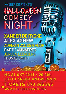 Halloween Comedy Night (2011) : Management – Productie– Promotor