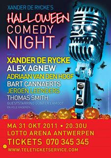 Halloween Comedy Night (2011) : Management – Productie– Promotor