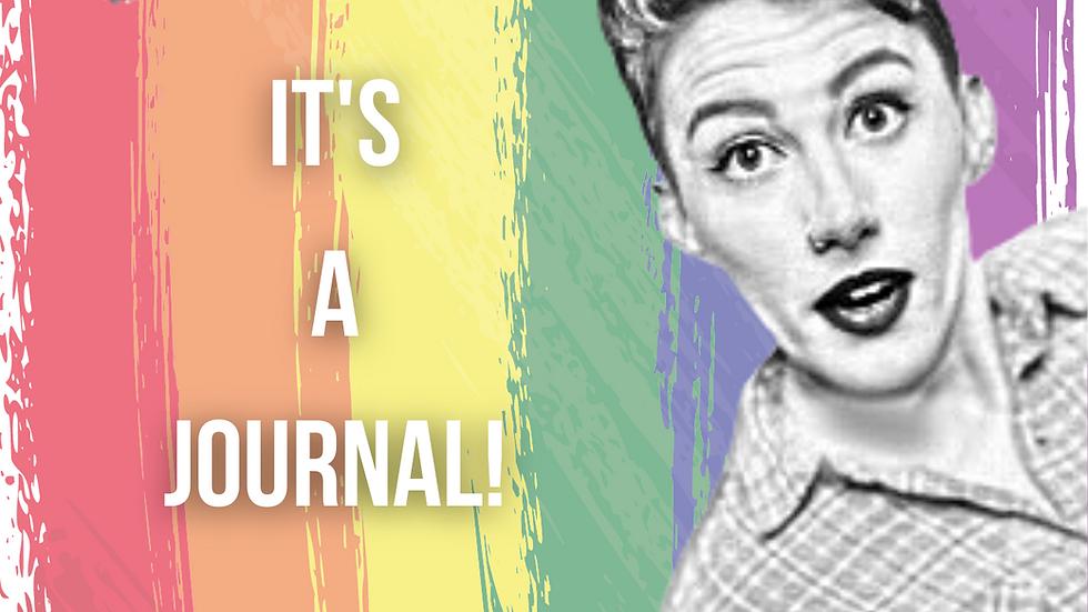 Pre-order Spoiler Alert: It's A Journal!