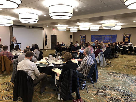 Rotary Club of Newport moves weekly meetings to Agate Beach Best Western. ​