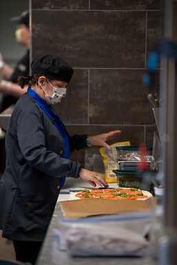 Rotary of Newport, Oregon provides meals for Samaritan Pacific Communities Hospital employees on April 20, 2020 in thanks for serving the public during the coronaviris crisis.