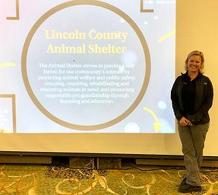 Laura Braxling, Lincoln County Animal Shelter