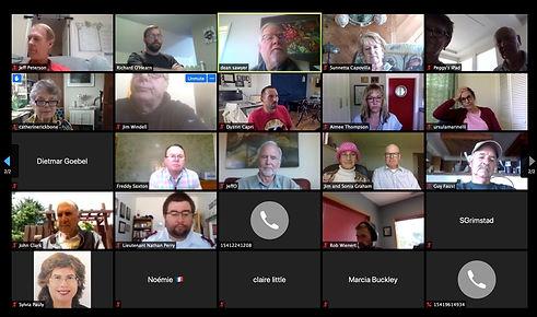 Rotary Club of Newport meets via Zoom on June 11,2020