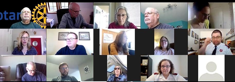 Rotary of Newport, Oregon Board Meeting, May 5, 2020.