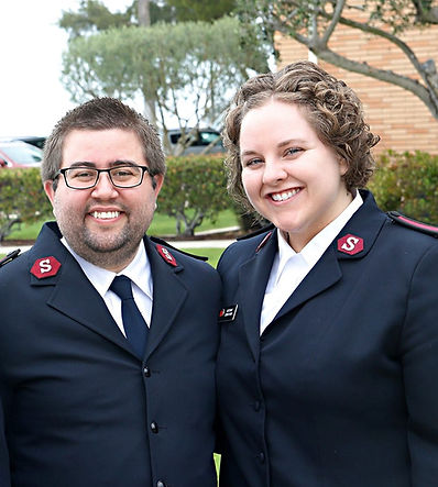 Nathan and Corrin Perry become new members of the Rotary Club of Newport, Oregon