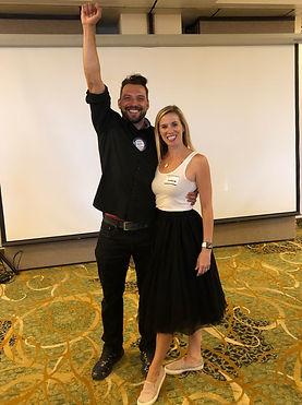 Dustin & Amanda Capri perform their dance!!