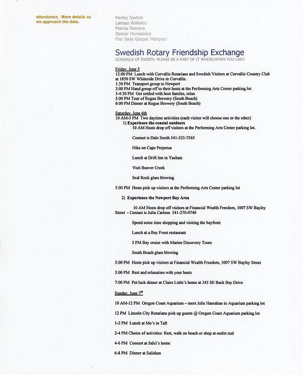 June 4, 2015 Rotary of Newport Newsletter