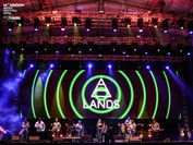 LANDS performing at the 2016 Monsoon Music Festival