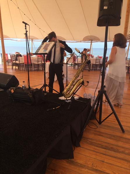 Wedding Gig on the Beach