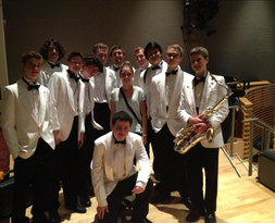 Competing at the Essentially Ellington Jazz Festival