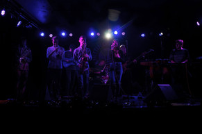 LANDS performing at the Knitting Factory
