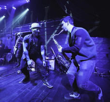Performing with Rome da Luce