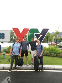 After being interviewed on live Vietnamese National Television