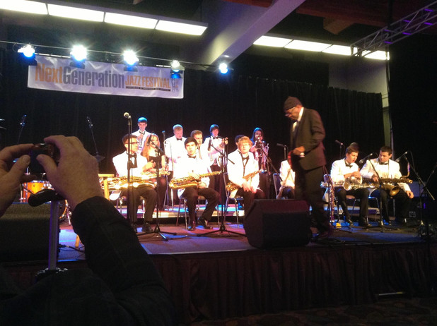 Competing at the Next Generation Jazz Festival