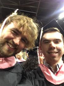Graduation at Berklee College of Music