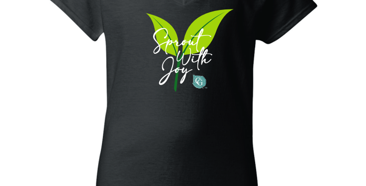 Sprout With Joy - Women's Branded T-shirt