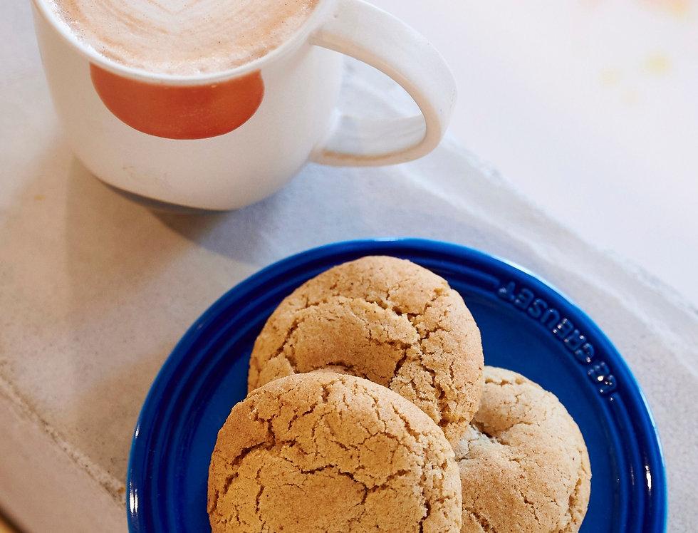Palette Cafe Vegan Ginger Cookies