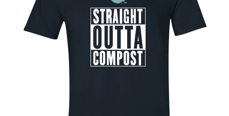 Straight Outta Compost - Men's Branded T-shirts