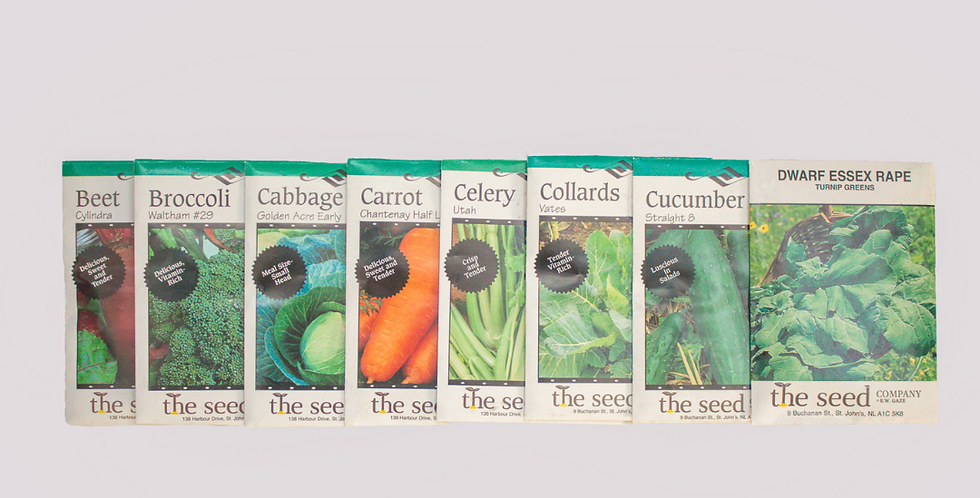Best Sellers Seed Packets From The Seed Co.