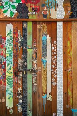patchwork slats