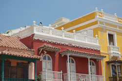 colorful taste of old town cartagena