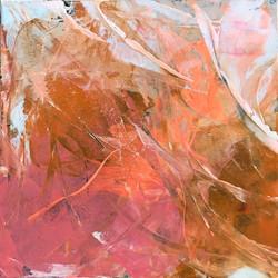 fractal in persimmon