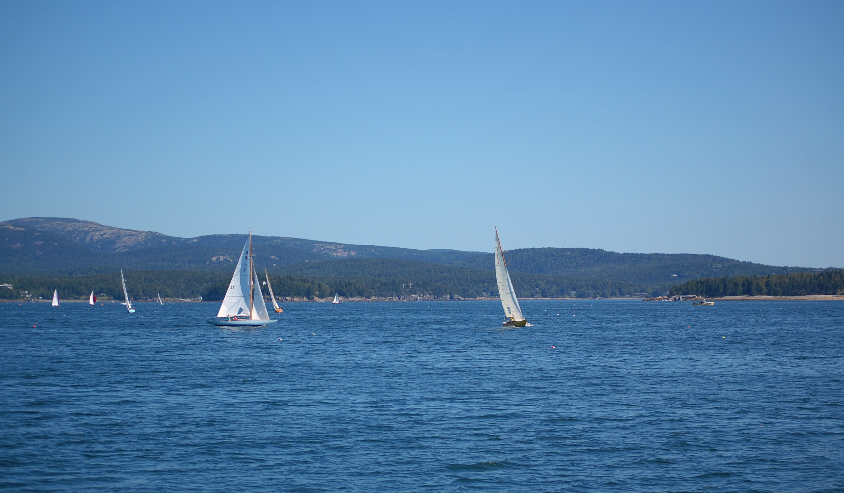 sailing along frenchman bay no.2