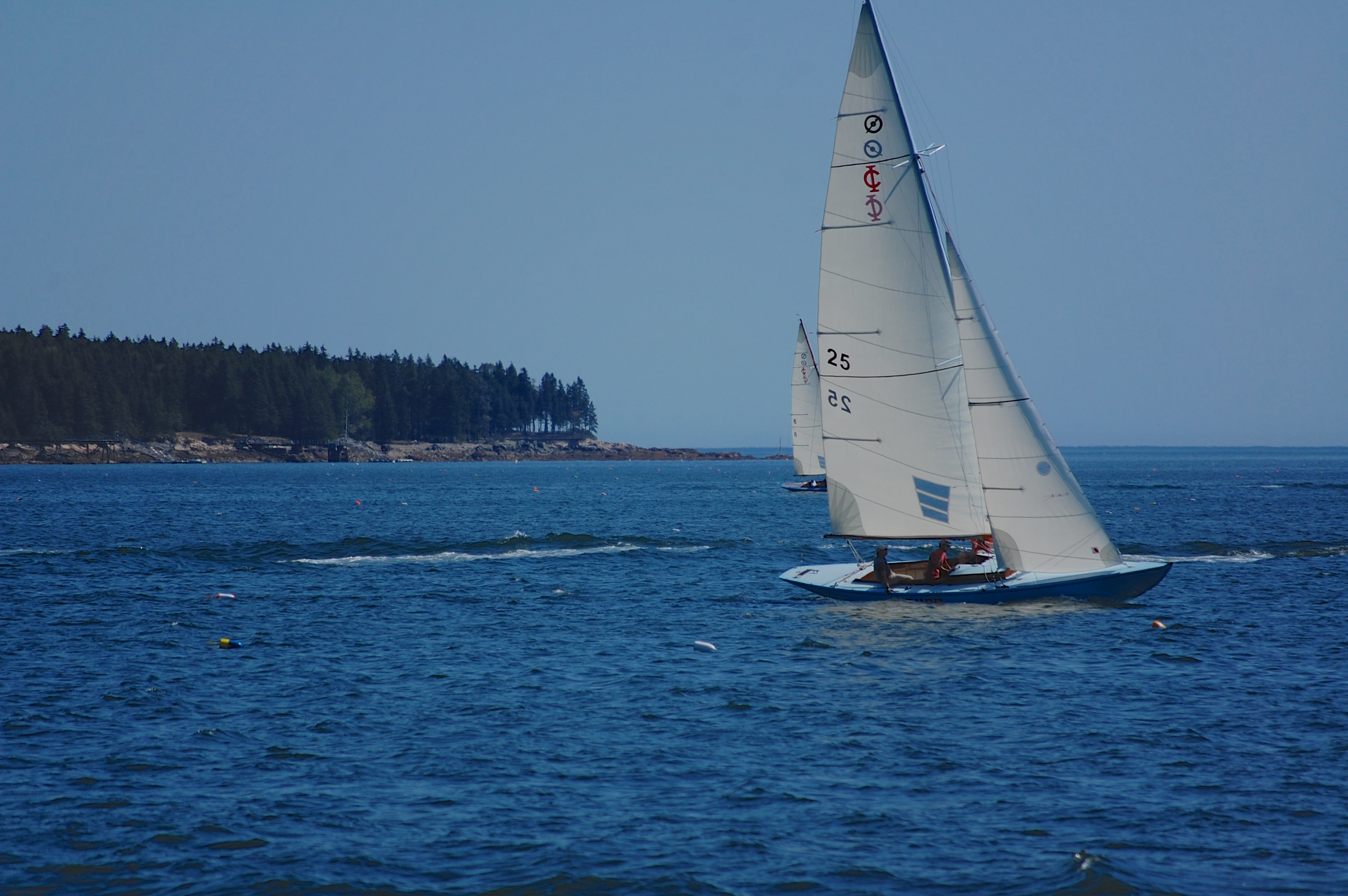 sailing along frenchman bay no.3