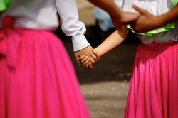 when we dance we hold hands