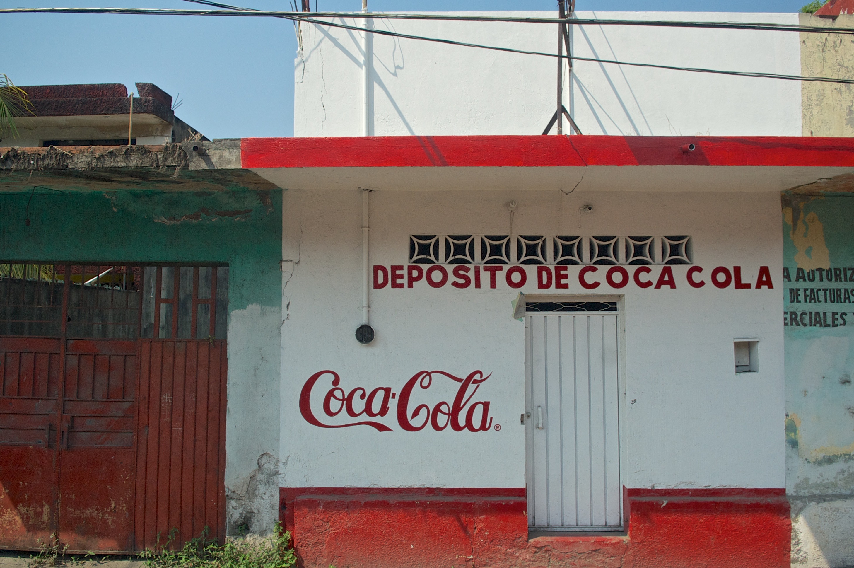 deposito de coca cola