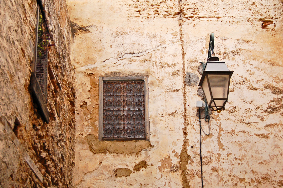 window in the medina
