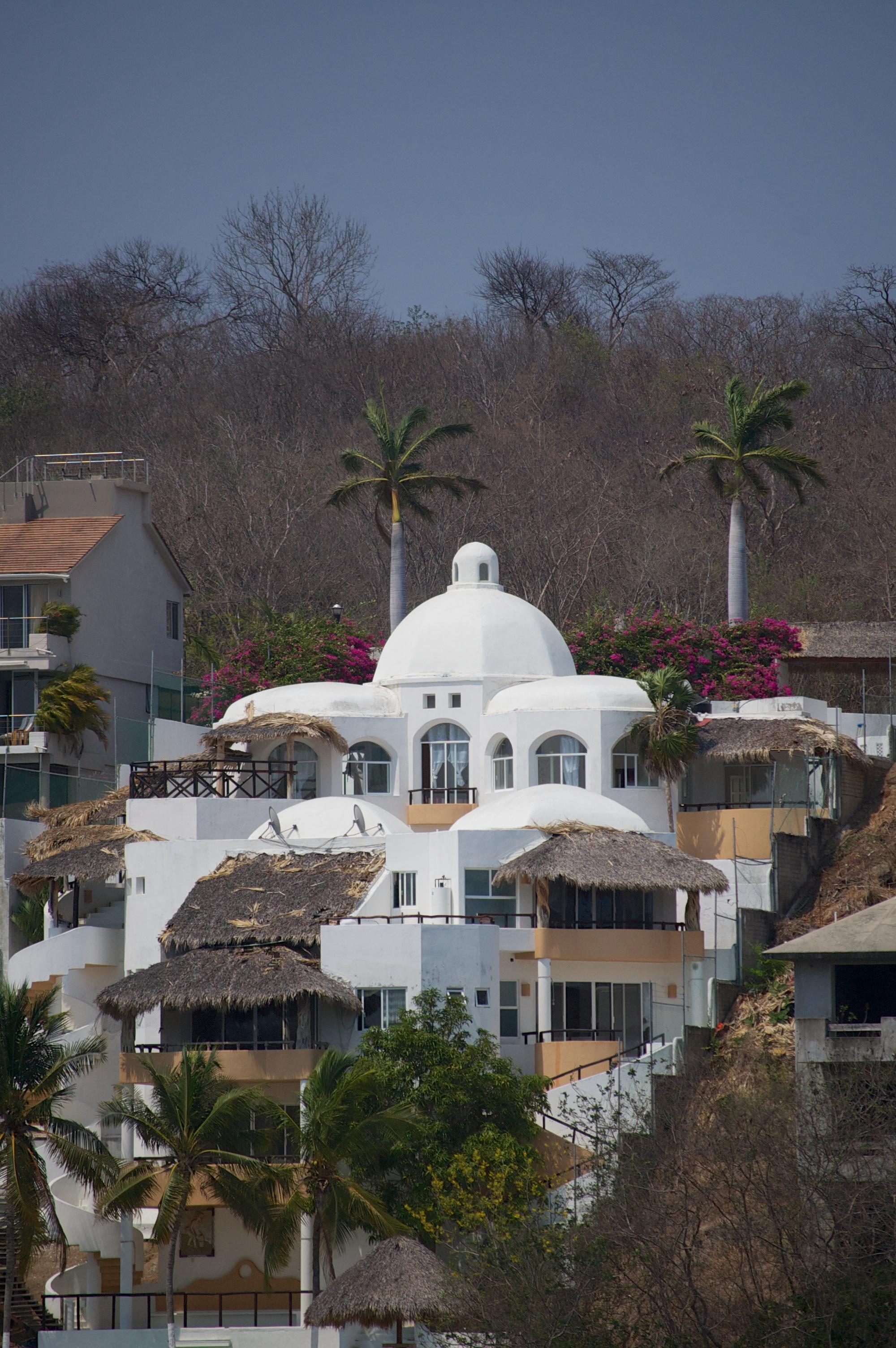 hillside mansion