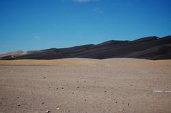 shadowed sand dunes