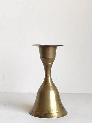 hidden bell brass candlestick
