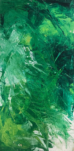 fractal in green