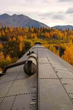 train top view