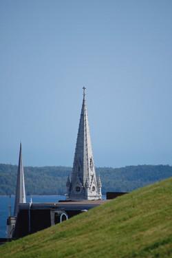 peeping spires