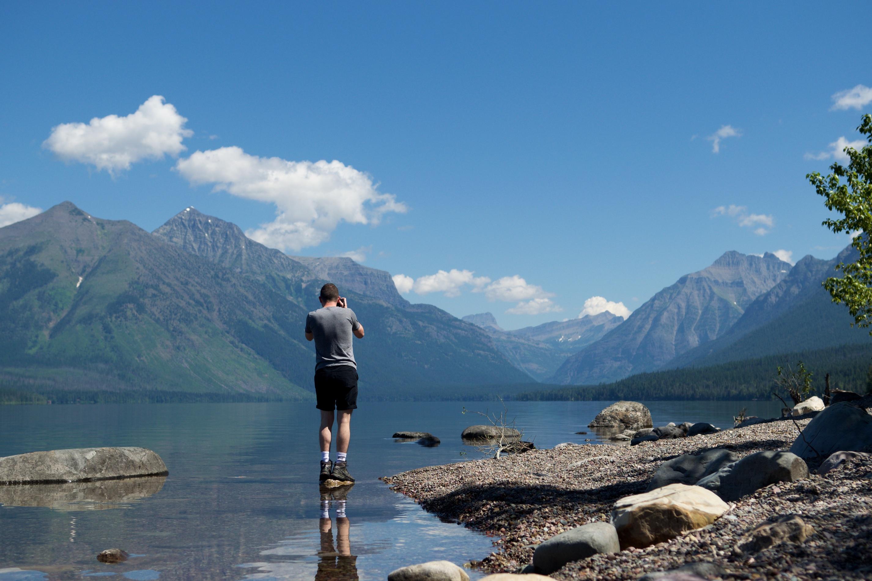 strangers on a lake