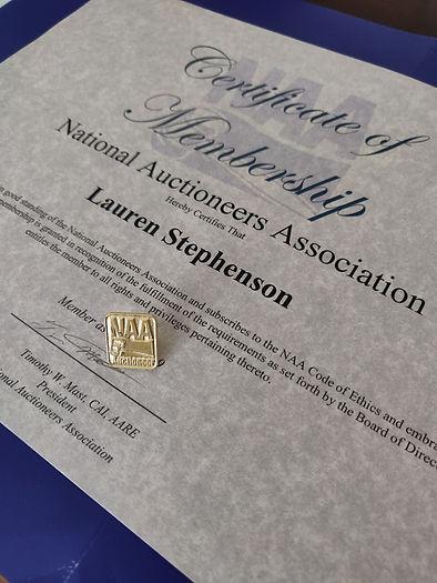 NAA Membership Certificate.jpg
