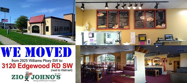 Zio Johno's 3120 Edgewood Rd SW, Cedar Rapids, IA. New location. Spaghetti, Lasagna, Garlic Bread, Gondola Sub. Italian Restaurant. Family friendly. Kid approved.