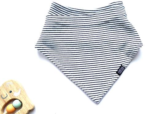 Stripe bandana dribble bib