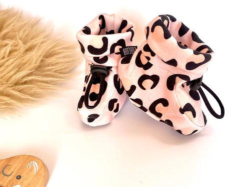 Blush Leopard Print Bootie